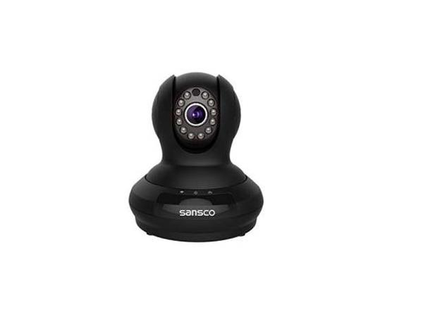 SANSCO 827-C 2MP 1920x1080p Indoor Wireless Security Camera Home Monitor WiFi Camera for Pet/Baby Surveillance IP Camera with IR Night Vision, Motion Detection Push Alerts and Two-Way Audio (UPC: 733810273479)