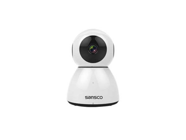SANSCO Wi-Fi IP Camera 1080p HD Network Pet Baby Monitor(Motion Detection, FHD 2.0 Mega-Pixels, Pan Tilt, Multiple Mobile Viewing, Superior Night Vision, Micro SD Card Slot)